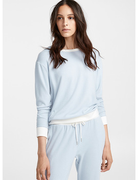 White Trim Sweater by Miiyu