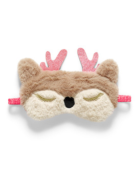 Fun Embroidery Plush Mask by Miiyu
