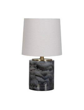 Clear Resin Accent Lamp Gray   Project 62™ by Project 62