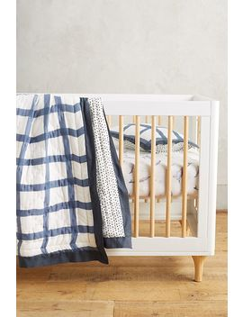 Cotton Muslin Crib Sheet by Anthropologie