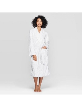 Women's Cozy Faux Fur Robe   Stars Above™ by Stars Above