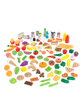 Kid Kraft Deluxe Tasty Treats Pretend Play Food by Kid Kraft
