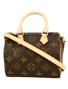 Louis Vuitton Nano Speedy Monogram M61252 Shoulder Bag Handbag [New] by Rakuten Global Market