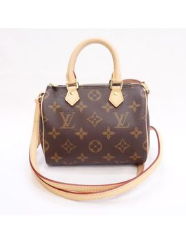 Louis Vuitton Nano Speedy Monogram M53152 Lady's Bag 2way Shoulder Bag Handbag Louis Vuitton R120 1 by Rakuten Global Market