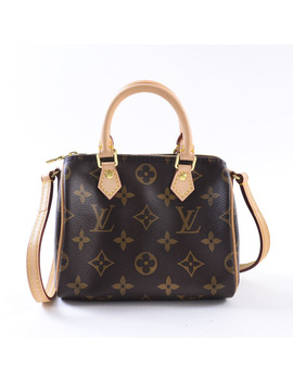 Louis Vuitton Louisvuitton Nano Speedy M61252 Handbag Monogram A Product by Rakuten Global Market