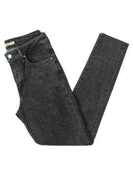 Levi's Womens Gray Denim Released Hem High Rise Skinny Jeans 25 Bhfo 7138 by Levi's