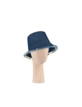 Blue Denim Hat by Dior