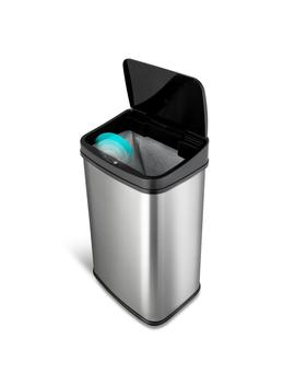 13 Gal. Stainless Steel Touchless Trash Can by Ninestars