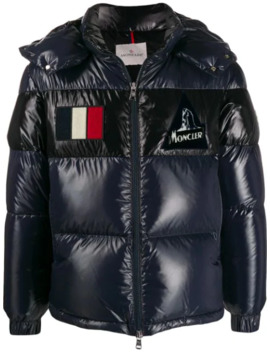 Gary Short Quilted Puffer Jacket by Moncler