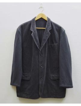 Ad 1994 Comme Des Garcon Homme Wool Corduroy Heavy Coat by Comme Des Garcons Homme Plus  ×
