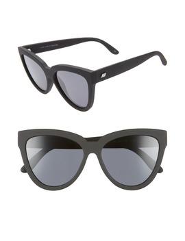 Liar Liar 57mm Polarized Cat Eye Sunglasses by Le Specs