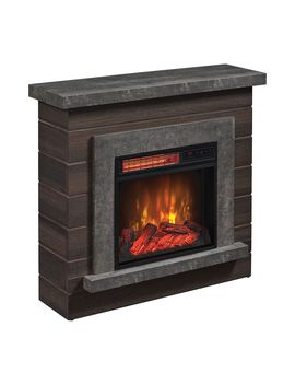 """Duraflame 36"""" Wall Mantel Infrared Fireplace W/ Remote Control by Duraflame"""
