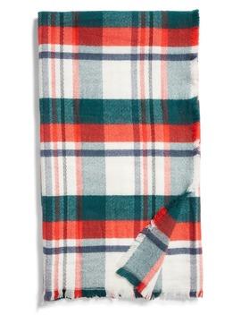 Rachell Parcell Tartan Plaid Throw Blanket by Rachel Parcell