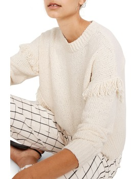 Montford Fringe Pullover Sweater by Madewell