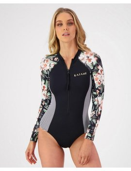 Lanah Long Sleeve Surfsuit by Kaiami