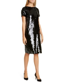 Cassia Sequin Cocktail Dress by Lafayette 148 New York