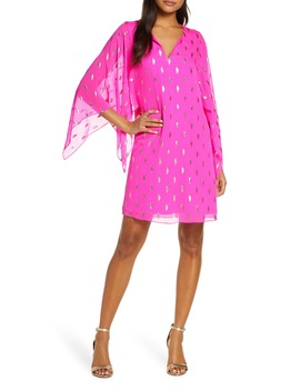 Shalyn Silk Fil Coupé Caftan by Lilly Pulitzer®