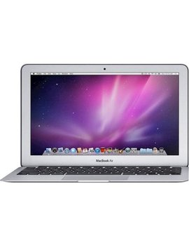 """Mac Book Air 11.6"""" Refurbished Grade B Laptop   Intel Core I5   2 Gb Memory   64 Gb Solid State Drive   Silver by Apple"""
