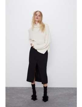 Oversized Wool And Alpaca Blend Sweater by Zara