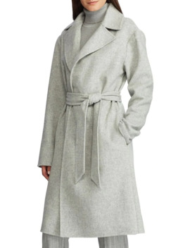 Wool Blend Wrap Coat by Lauren Ralph Lauren