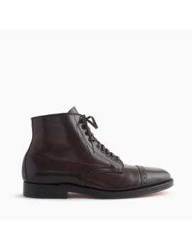 Alden® For J.Crew Cap Toe Cordovan Boots by Alden