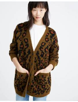 Jungle Cat Cardigan Sweater by Madewell