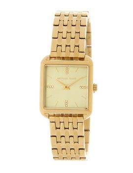 Women's Drew Gold Plated Bracelet Watch, 33mm X 39mm by Michael Michael Kors