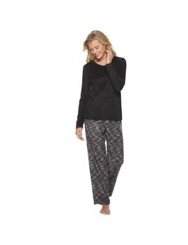 Women's Sonoma Goods For Life™ Pajama Tee &Amp; Pajama Pants Set by Sonoma Goods For Life