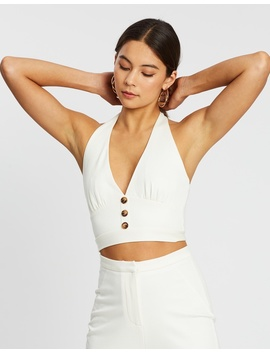 Influencer Halter Top by Dazie