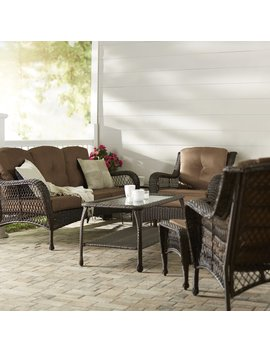 Herrin 6 Piece Sofa Seating Group Set With Cushions by Darby Home Co