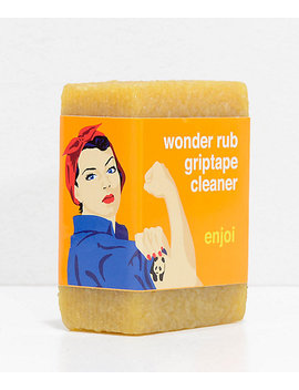 Enjoi Wonder Rub Grip Tape Cleaner by Enjoi