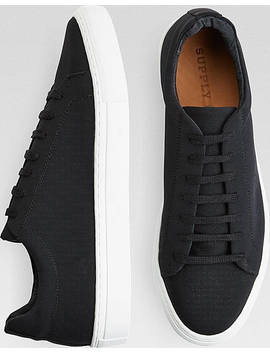 Supply Lab Dylan Black Sneakers by Supply Lab