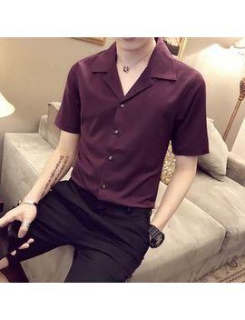 Jorz   Plain Short Sleeve Shirt by Jorz