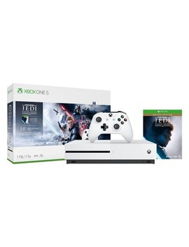 Xbox One S 1 Tb Star Wars Jedi Fallen Order Bundle by Xbox