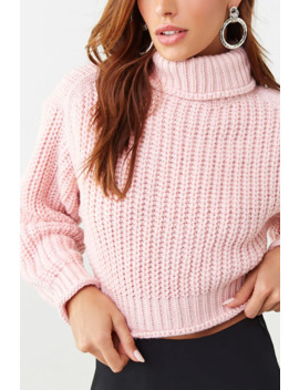 Ribbed Semi Cropped Sweater by Forever 21