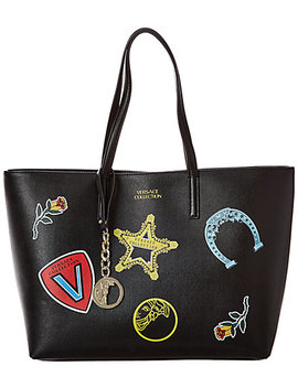 Versace Collection Leather Tote by Versace Collection