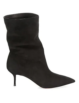 Very Boogie Suede Boots by Aquazzura