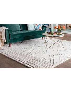 Depasquale Beige/Ivory/Grey Area Rug by Red Barrel Studio
