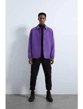 Faux Wool Coach Jacket by Zara