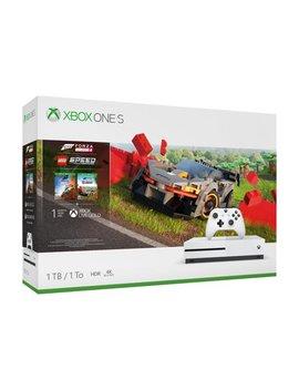 Microsoft Xbox One S 1 Tb Forza Horizon 4 Lego® Speed Champions Bundle, White, 234 01121 by Microsoft