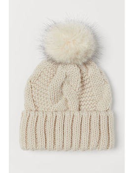 Knitted Hat With Wool by H&M
