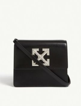 Jitney 0.7 Leather Cross Body Bag by Off White C/O Virgil Abloh