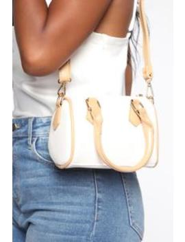High Speed Mini Bag   White by Fashion Nova