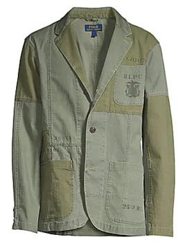 Colorblock Utilitarian Sportcoat by Polo Ralph Lauren