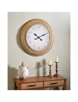 "Oversized Braunste 30"" Wall Clock by Bloomsbury Market"