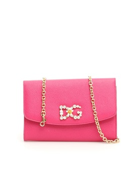Dolce & Gabbana Crystal Dg Wallet Bag by Dolce & Gabbana