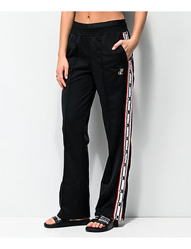 Champion Black & White Taping Track Pants by Champion