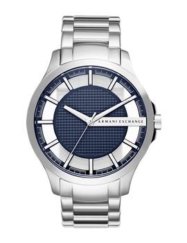 Men's Hampton 3 Hand Bracelet Watch, 46mm by Ax Armani Exchange