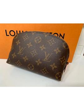 Brown Lv Cosmetic Bag by Louis Vuitton