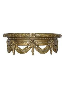 Guth Swag Canopy Bedcrown Sculpture by Astoria Grand
